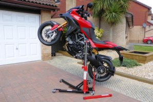 abba Sky Lift on Ducati Multistrada 1200 (Wheelie position)
