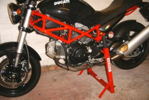 abba Stand on Ducati Monster