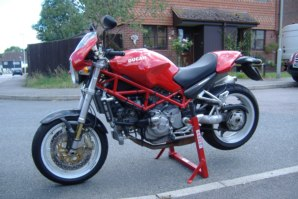 abba Paddock Stand on Ducati S4R 996 2005