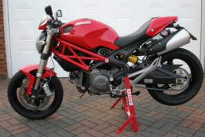 abba Superbike Stand on Ducati Monster 969