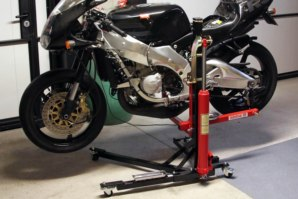 abba Sky Lift fitted to Aprilia RS250