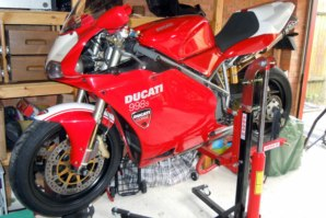 Ducati 998 on abba Sky Lift