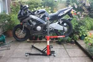 CBR600 on abba Sky Lift (Horizontal position)