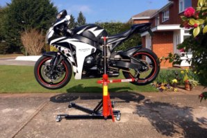 abba Sky Lift on Honda Fireblade