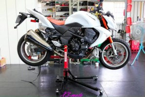 abba Sky Lift fitted to Kawasaki Z1000