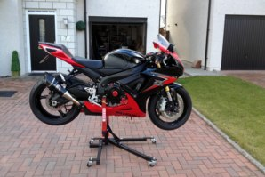 GSXR1000 on abba Sky Lift