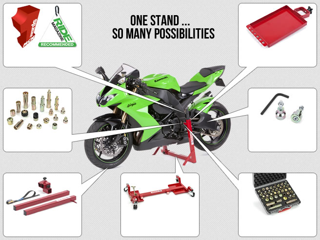 Superbike Stand Options