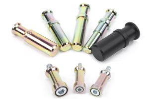 optional hub spindles and bobbin adapters