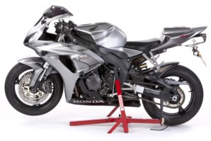 Front Lift Arm shown in use with Superbike Stand.